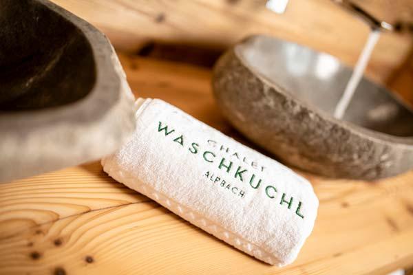 Chalet Waschkuchel Detail
