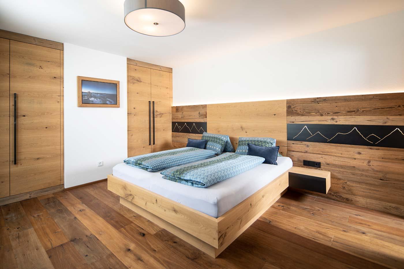 Schlafzimmer Eberharter und Pirhofer