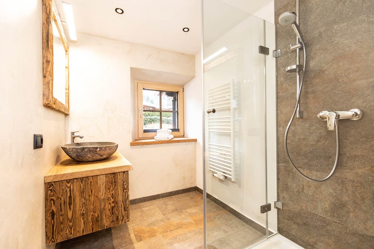 Chalet Alte Schmiede Badezimmer