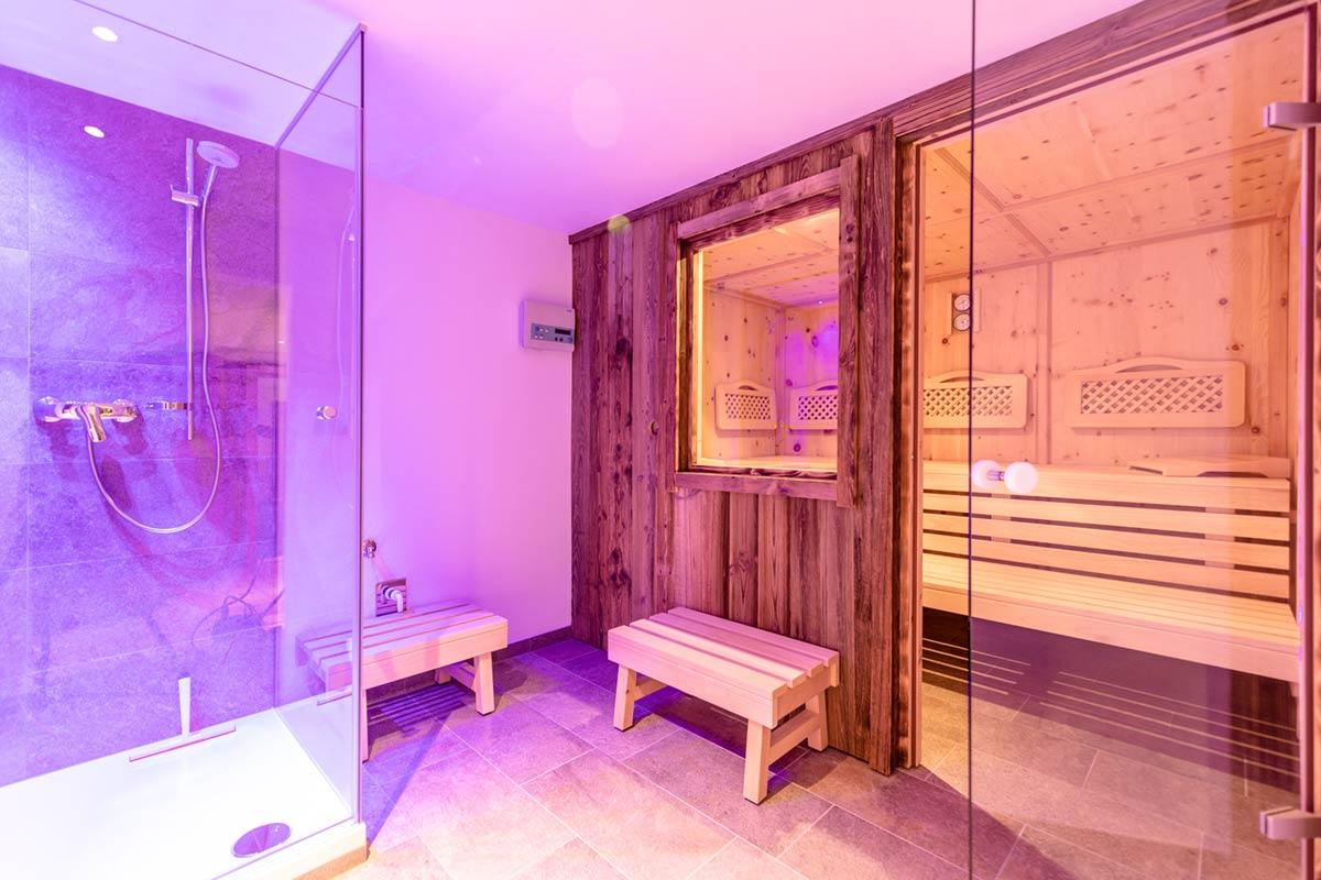 Chalet Alte Schmiede Sauna
