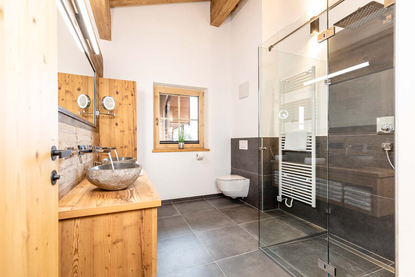 Chalet Waschkuchl Badezimmer