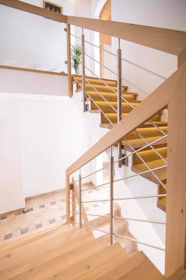 Einfamilienhaus Treppe