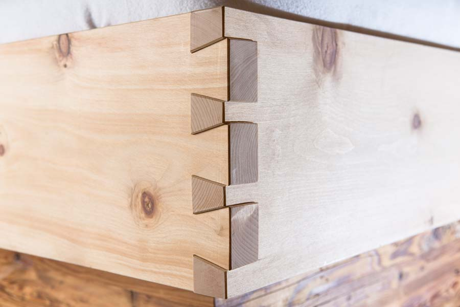 Familienwohnung Holz