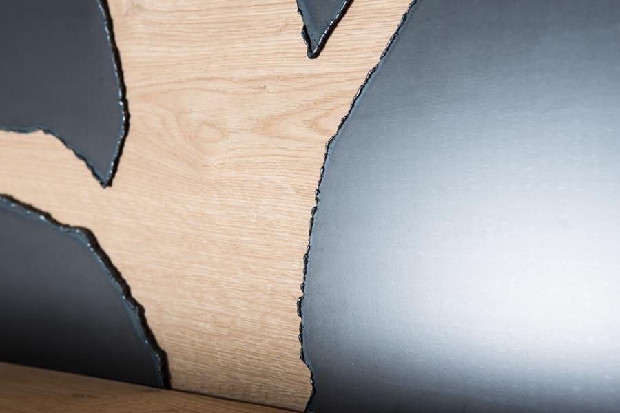 Innovative Charakterwohnung HolzMetallkombi