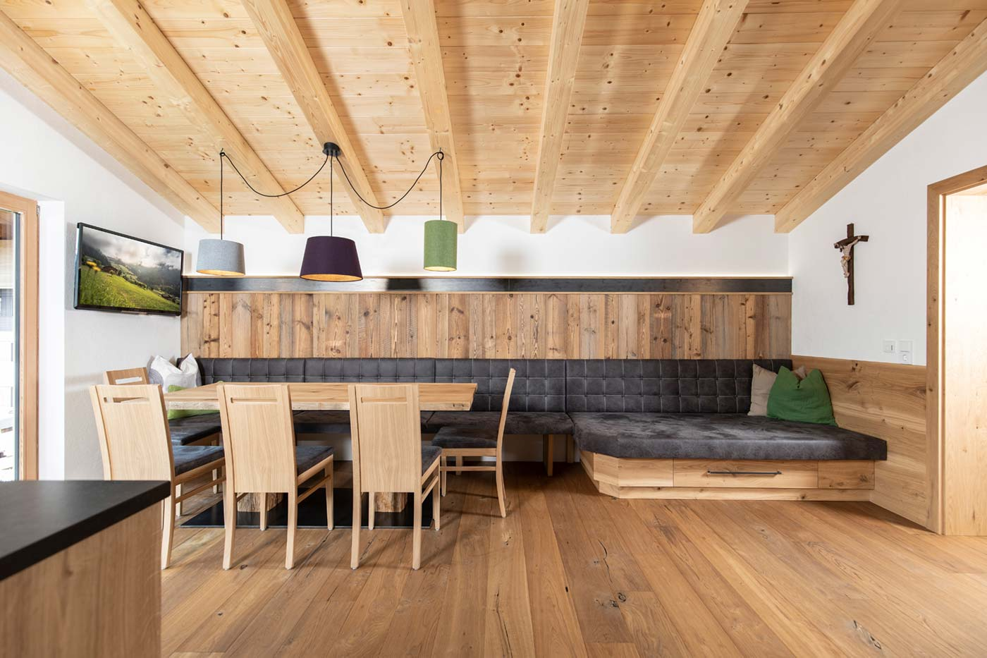 Penthouse Wohnung Wohnbereich